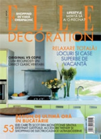 ELLE DECORATION din August